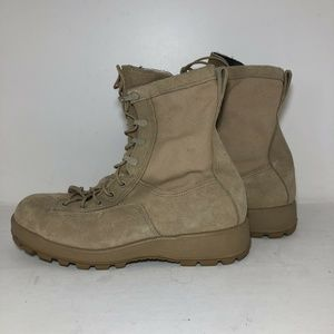 Vibram Military Combat Suede Desert Boots 9.5W